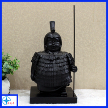 China style resin soldier figure for decoration
