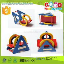2017 OEM and Handicraft Rainbow Color Wooden Mini Toys for Sale