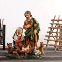 Western religious resin handicraft series The manger group furnishing decoration