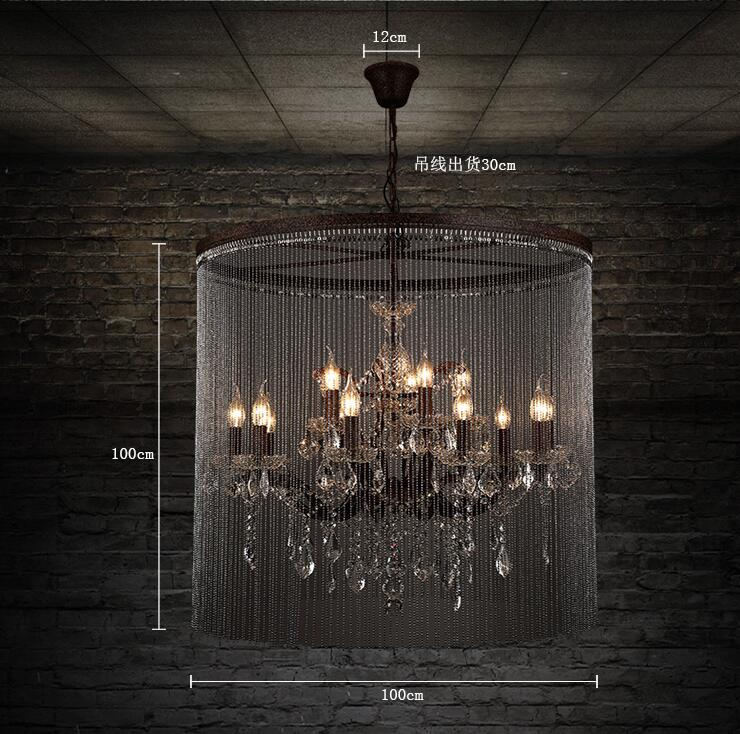 Europe style Simple creative style chinese modern chandelier YM3005-D-TT712