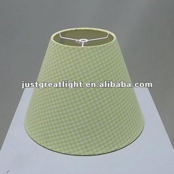 Light Green Fabric Desk Lamp Shade For Table Decoration