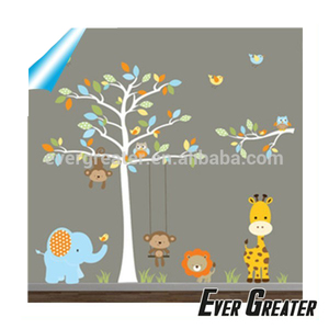 Custom waterproof nursery wall decals removablefridge decals stickers and decals Made in china
