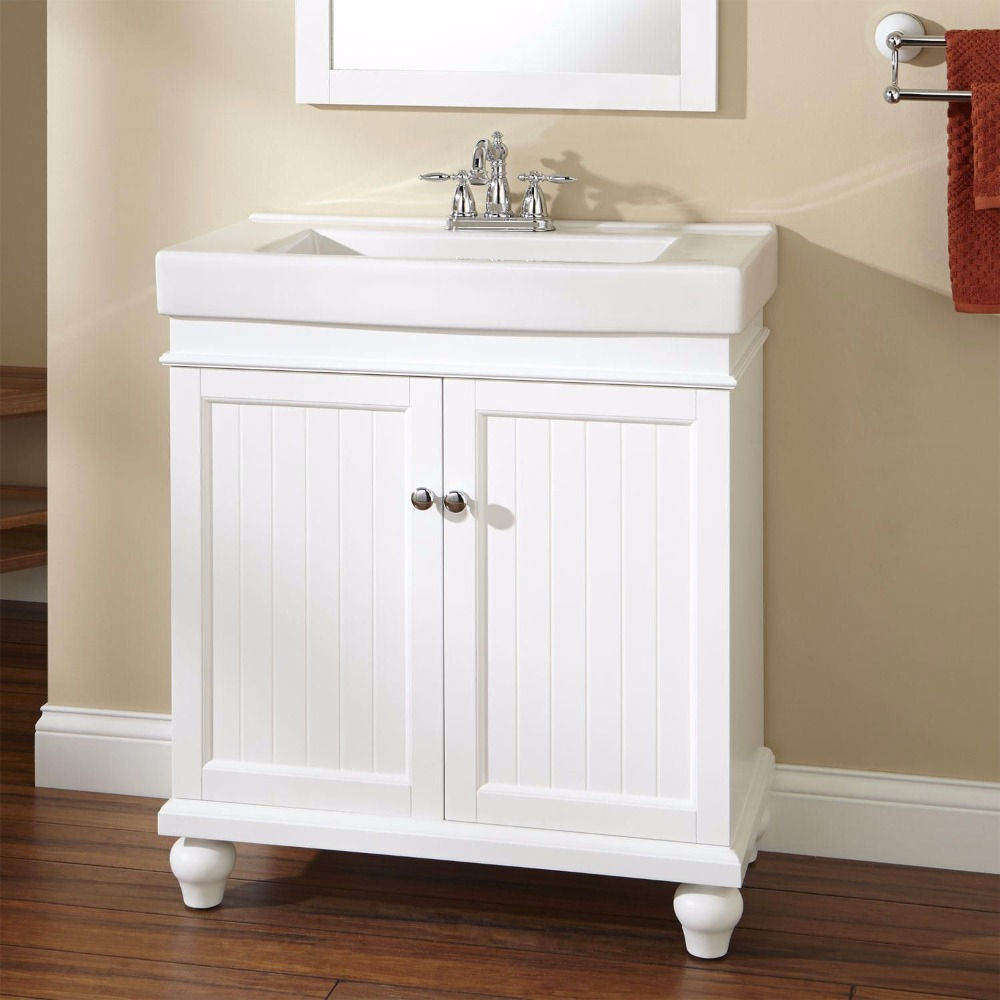 New product 2016 high gloss white chinese bathroom vanity, bathroom cabinets online