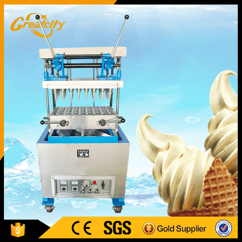 Easy customization with DST stainless steel ice cream cone maker