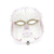 Red led face mask light therapy
