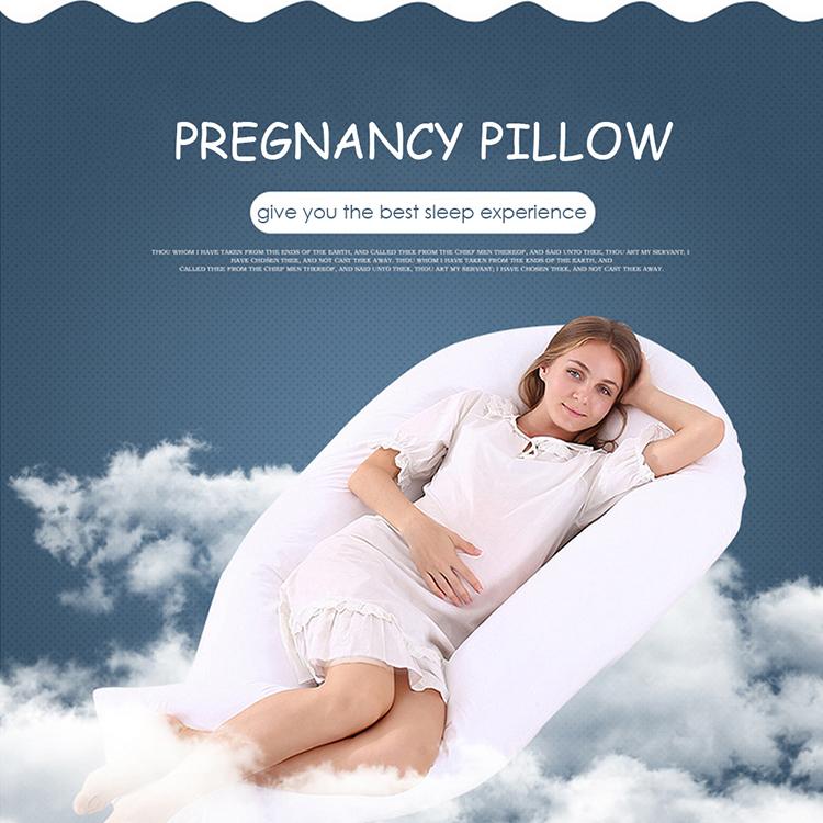 Heißer verkäufer c-form schwangere gesamten körper kissen, original neuheit feuerfeste schwangerschaft cuddle schlaf kissen für mutterschaft schwangerschaft