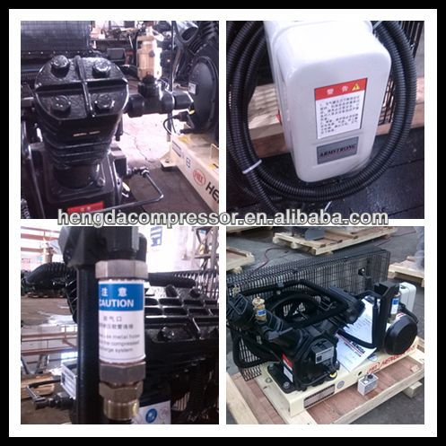Aspera Embraco hermetic refrigerator Compressor Booster with 175CFM 508PSI 25HP 5m3 35bar 18.5kw air compressor