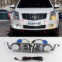 Cadillac for SRX LED Strip Head Lamp with High power LED day light