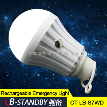 Usb Charging Portable Emergency Led Light Bulb Use Indoor And ...