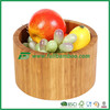 Round bamboo fruit bowls serving bowls from fujian province