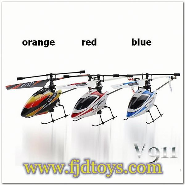 WL Single propeller 4-channel infrared control helicopter