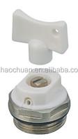 manual air vent valve
