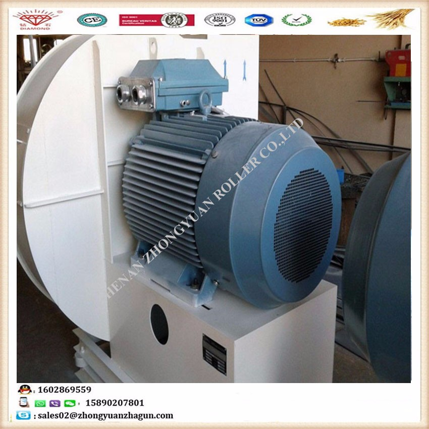 Wall Fans High Volume Low Pressure : High pressure centrifugal fan for flour processing plant