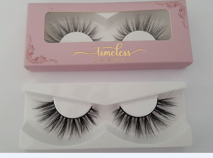 Wholesale Custom Made Human Hair False Eyelashes Manufacturer Indonesia 0403