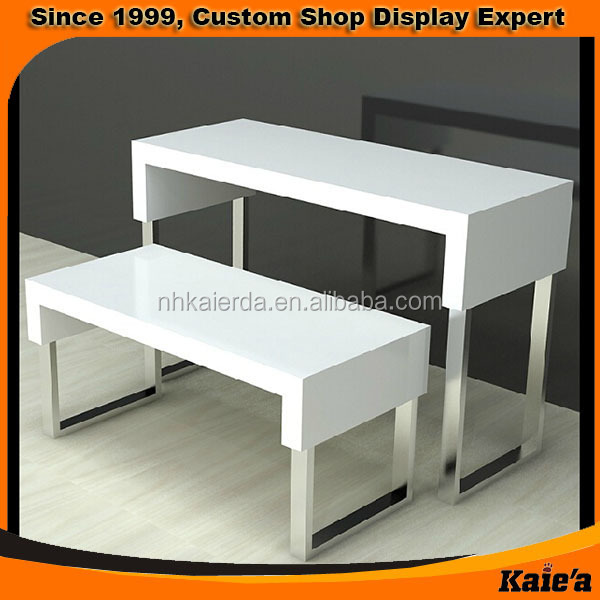 Shoe Display Table,retail Clothing Display Table,display Shelf Table