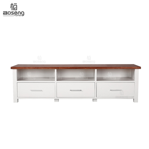 Modern Living Room Wood Cabinets TV Stand Unit
