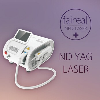 Medical q switch nd yag laser Beauty Equipment For Eliminate Tattoo Removal , Nevus Laser Removal laser