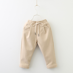 PHB12185 wholesale fall winter children girls wide pants