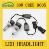Manufacturer Wholesale high power auto led lamp 9005 china led lighting 30W 6000K