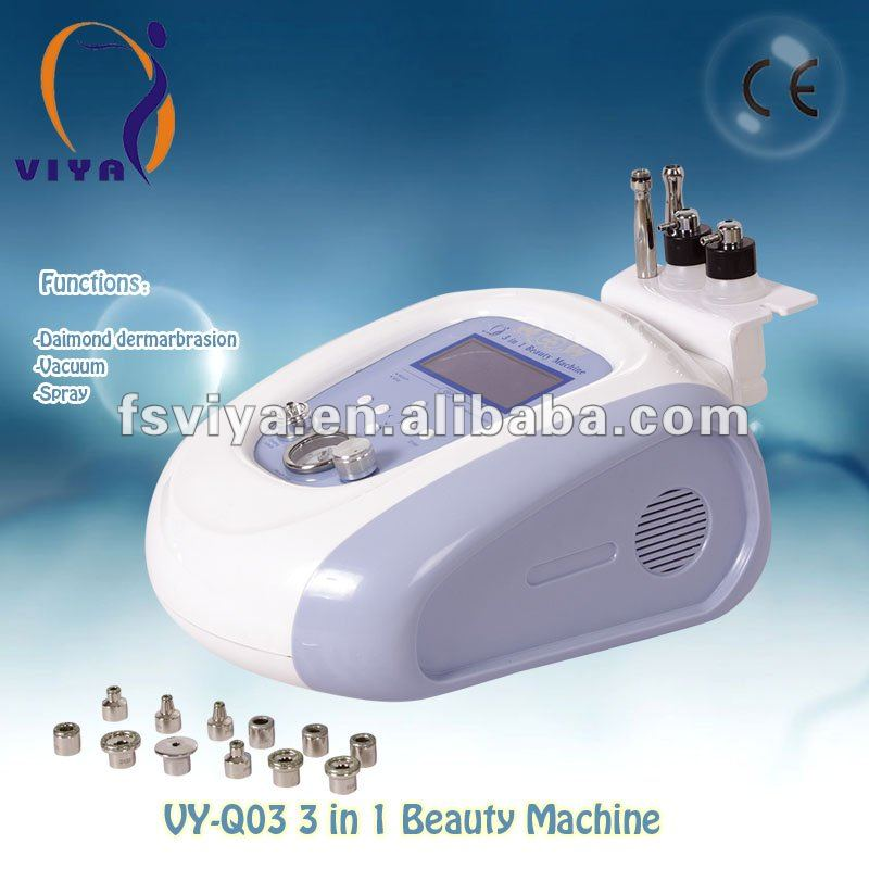 Newest 3 in 1 Microdermabrasion machine with Vacuum and Spray