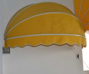 half round awning waterproof install in the wall or window electric or hand awning