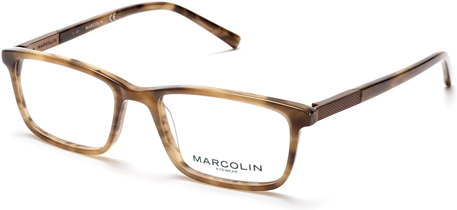 Eyeglasses Marcolin MA 3014 050 dark brown/other