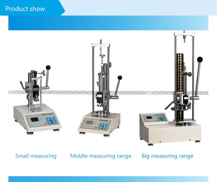 200N 20kg tensile and compression testing machine spring load testing machine