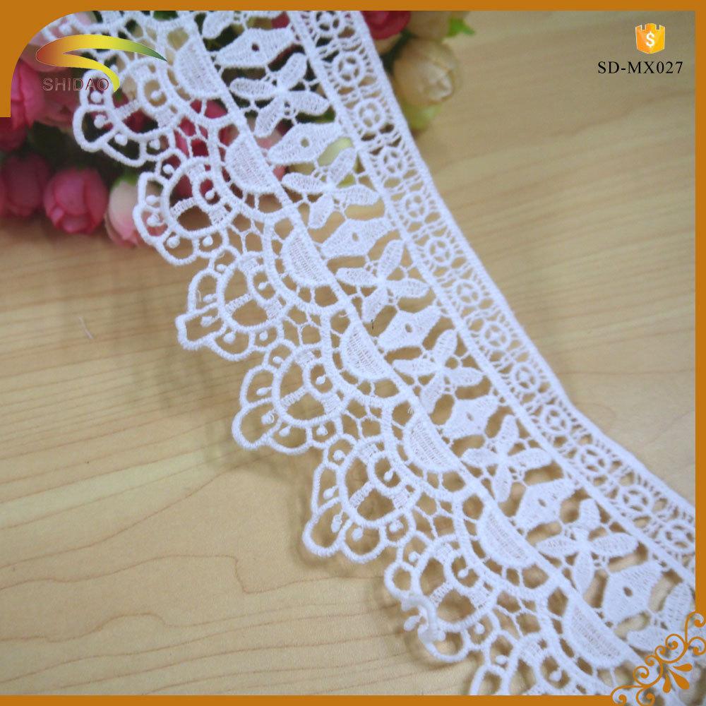 100% Cotton Material Italian Guipure Embroidery Designs ...