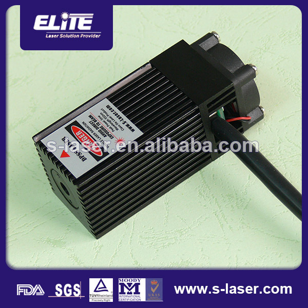 2015 Max. forward current 200mA 500mw 532nm dpss laser with TEC cooler
