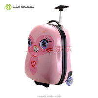 lovely light kid luggage bag school trolley good price and quality