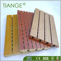 mdf melamine 3d wood wall covering