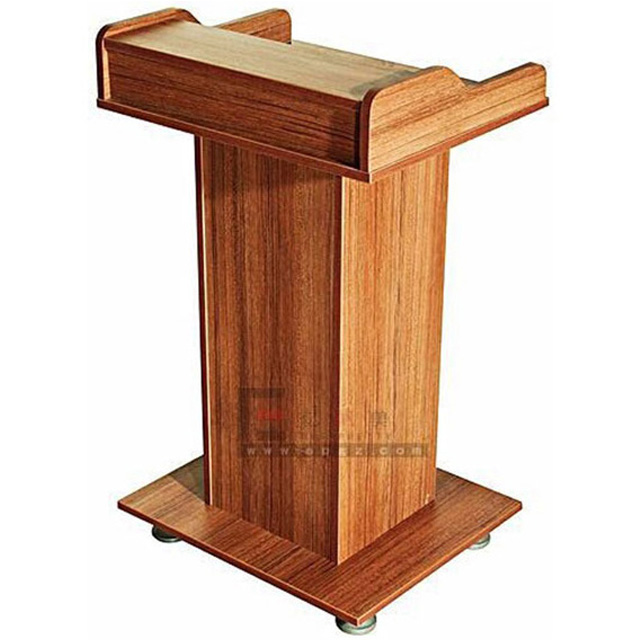 high quality modern wooden church pulpit design podium lectern