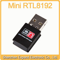 300Mbps Mini Realtek RTL8191su USB WiFi Adapter