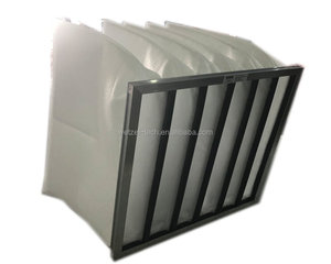 G4 Large Dust Holding Bag Air Filter for Ventilation System