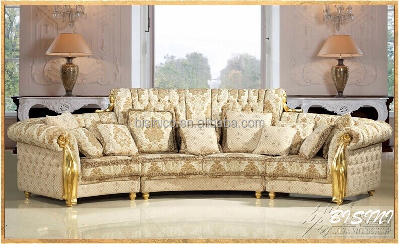 English Romantic Furniture Bright Color Classic Sectional