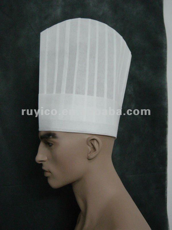 Disposable Nonwoven Pp Pleated Chef Cap Kitchen Hat For Cooking Buy Disposable Chef Cap Kitchen Hat Chef Cap In Kitchen Using Cheap Wholesale