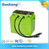 deep cycle rechargeable LiFePO4 12v 120ah battery for vehicle/Solar led system