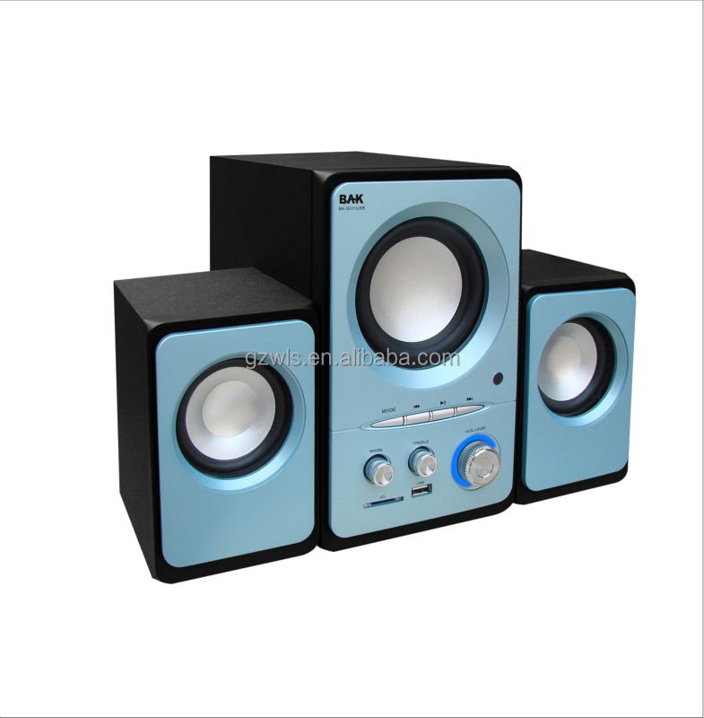 WLS mini combo system with professional stereo surround sound loudspeakers