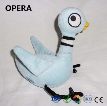 good quality new gifts factory direct soft blue bird the pigeon plush stuffed animals