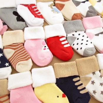Wholesale Cute Thick Warm Winter Baby Socks New Fashion Design Cheap
