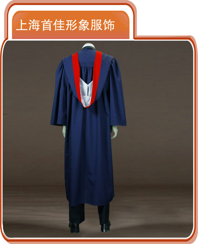 Shanghai Shoujia Top Quality Doctors Graduation Gown - Buy Doctors ...