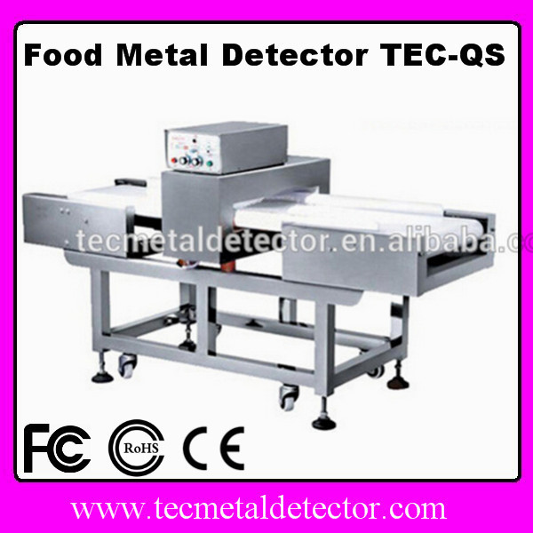 Explosive metal detector Food checking equipment TEC-QS for packaged vivers