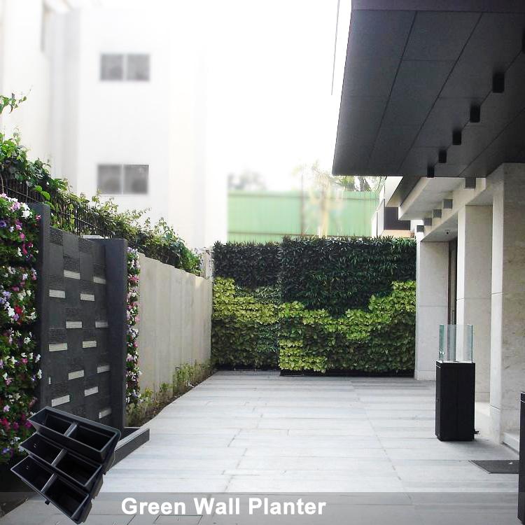 Vertical Walls And Facades Living Wall Garden Planters Sol