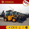XCMG mini Backhoe loader WZ30-25 front end loader and backhoe
