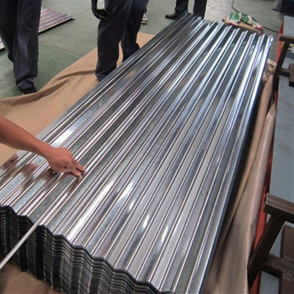 cheap 16 28 gauge thickness galvanized red color metal roof tile corrugated steel sheets