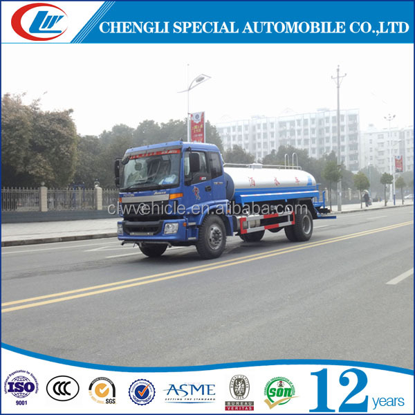 10CBM Watering truck 10T Water spray truck 10tons Water tank truck for sale