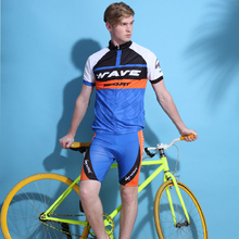 Short Sleeve Man City Bike Jersey Mountain Bike Jersey Cycling Sportswear Suit