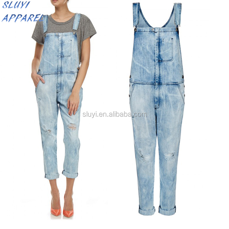 Women working overall jumpsuit working cotton jumpsuit overalls for women,Ladies denim work cloths Dungarees