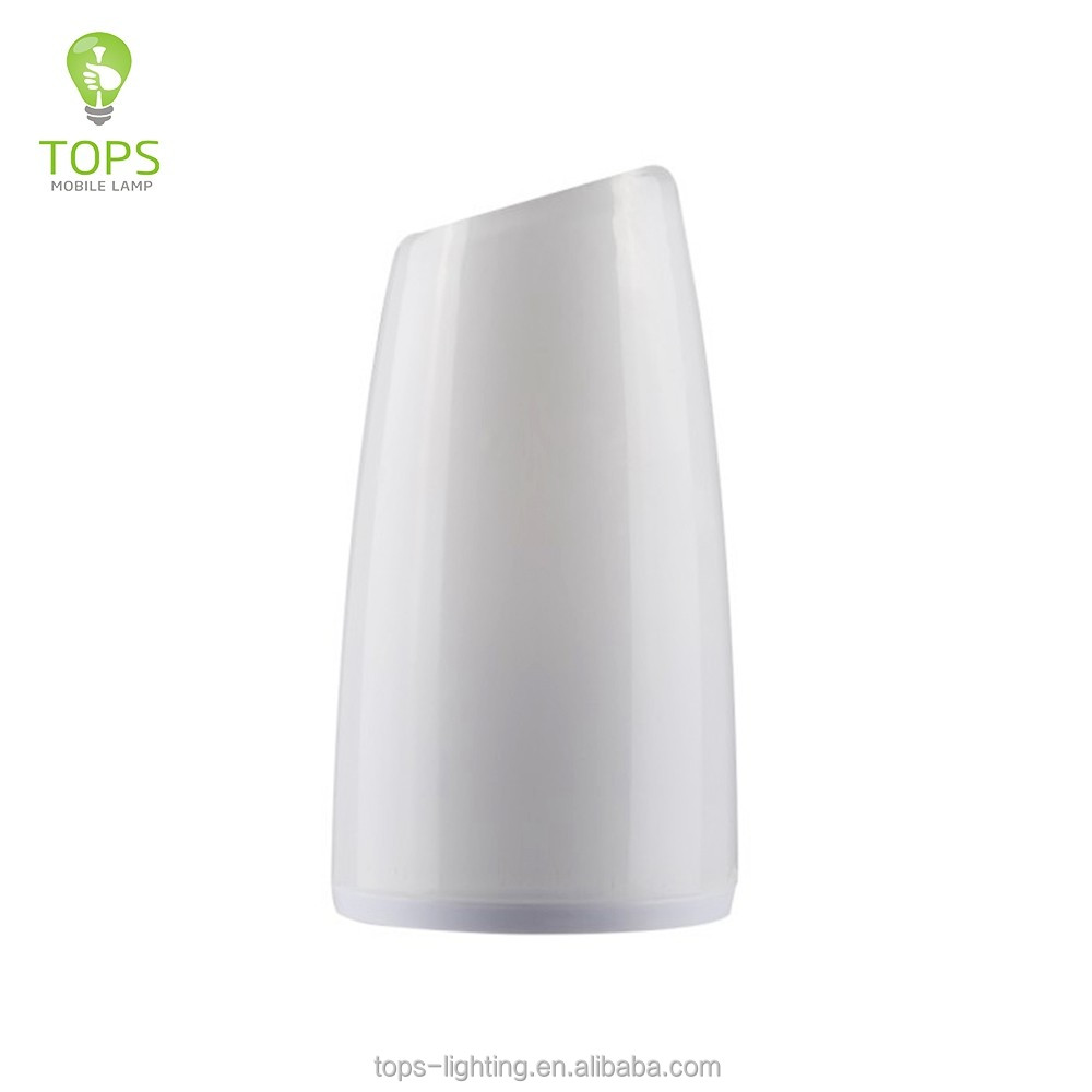 Soft light tower shape battery powered operated night lamp