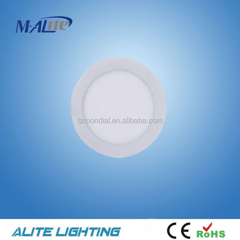 CE& RoHS Approved 6W Slim Round Shape LED Panel(APR4IB-6W)